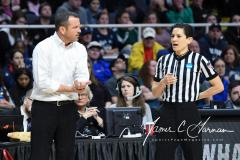 NCAA Women's Basketball Albany Regional Finals - #1 Louisville 73 vs. #2 UConn 80 (86)