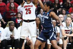 NCAA Women's Basketball Albany Regional Finals - #1 Louisville 73 vs. #2 UConn 80 (88)
