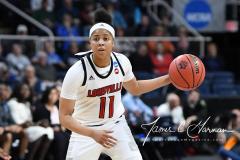 NCAA Women's Basketball Albany Regional Finals - #1 Louisville 73 vs. #2 UConn 80 (89)