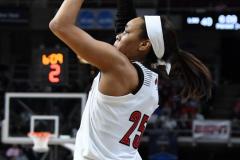NCAA Women's Basketball Albany Regional Finals - #1 Louisville 73 vs. #2 UConn 80 (90)