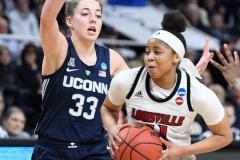 NCAA Women's Basketball Albany Regional Finals - #1 Louisville 73 vs. #2 UConn 80 (94)