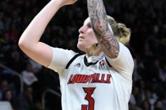NCAA Women's Basketball Albany Regional Finals - #1 Louisville 73 vs. #2 UConn 80 (95)