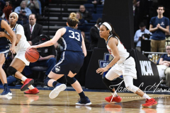 NCAA Women's Basketball Albany Regional Finals - #1 Louisville 73 vs. #2 UConn 80 (96)