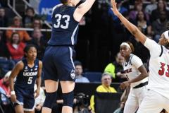 NCAA Women's Basketball Albany Regional Finals - #1 Louisville 73 vs. #2 UConn 80 (98)