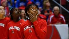 NCAA Women's Basketball: Ball State 65 vs Central Michigan 74, Worthen Arena, Muncie IN, February 10, 2016