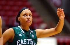 NCAA Women's Basketball: Ball State 76 vs Eastern Michigan 54, Worthen Arena, Muncie IN, January 20, 2016
