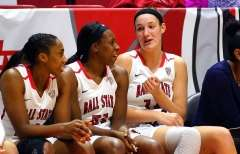 NCAA Women's Basketball: Ball State 78 vs Eastern Michigan 49, Worthen Arena, Muncie IN, January 18, 2017