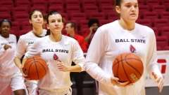 NCAA Women's Basketball: Ball State 80 vs Akron 70, Worthen Arena, Muncie IN, January 14, 2017