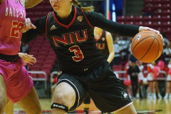 Gallery NCAA Women's Basketball: Ball State 83 vs Northern Illinois 93 Worthen Arena, Muncie IN, February 09, 2019