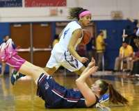 NCAA Women's Basketball - CCSU 39 vs. Robert Morris 62 - Photo (6)