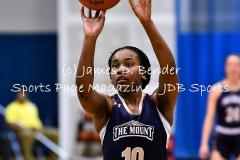 Gallery NCAA Womens Basketball CCSU 44 vs. Mount St Mary's 61