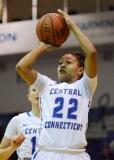NCAA Women's Basketball - CCSU 53 vs. Bryant 52 - Photo (55)