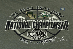 NCAA Women's Basketball Championship - Baylor 82 vs. Notre Dame 81 (3)