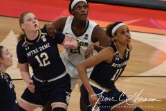 NCAA Women's Basketball Championship - Baylor 82 vs. Notre Dame 81 (73)