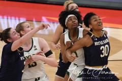 NCAA Women's Basketball Championship - Baylor 82 vs. Notre Dame 81 (80)