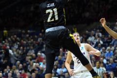 NCAA Women's Basketball Championship First Round - #2 UConn 110 vs. #15 Towson 61 (107)