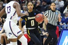 NCAA Women's Basketball Championship First Round - #2 UConn 110 vs. #15 Towson 61 (108)