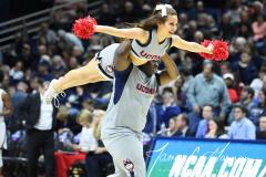 NCAA Women's Basketball Championship First Round - #2 UConn 110 vs. #15 Towson 61 (110)