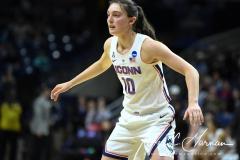 NCAA Women's Basketball Championship First Round - #2 UConn 110 vs. #15 Towson 61 (119)