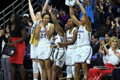 NCAA Women's Basketball Championship First Round - #2 UConn 110 vs. #15 Towson 61 (120)