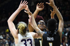 NCAA Women's Basketball Championship First Round - #2 UConn 110 vs. #15 Towson 61 (52)