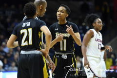NCAA Women's Basketball Championship First Round - #2 UConn 110 vs. #15 Towson 61 (56)