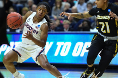 NCAA Women's Basketball Championship First Round - #2 UConn 110 vs. #15 Towson 61 (60)