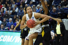 NCAA Women's Basketball Championship First Round - #2 UConn 110 vs. #15 Towson 61 (64)