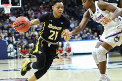 NCAA Women's Basketball Championship First Round - #2 UConn 110 vs. #15 Towson 61 (80)