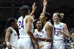 NCAA Women's Basketball Championship First Round - #2 UConn 110 vs. #15 Towson 61 (82)