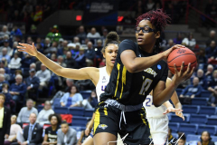 NCAA Women's Basketball Championship First Round - #2 UConn 110 vs. #15 Towson 61 (91)
