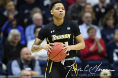 NCAA Women's Basketball Championship First Round - #2 UConn 110 vs. #15 Towson 61 (92)