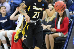 NCAA Women's Basketball Championship First Round - #2 UConn 110 vs. #15 Towson 61 (93)