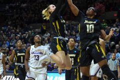 NCAA Women's Basketball Championship First Round - #2 UConn 110 vs. #15 Towson 61 (97)