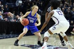 NCAA Women's Basketball Championship Second Round - #2 UConn 84 vs. #10 Buffalo 72 (101)