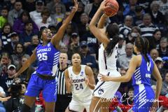 NCAA Women's Basketball Championship Second Round - #2 UConn 84 vs. #10 Buffalo 72 (104)