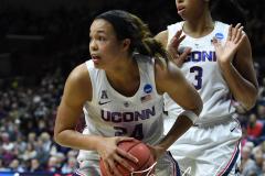 NCAA Women's Basketball Championship Second Round - #2 UConn 84 vs. #10 Buffalo 72 (108)