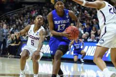 NCAA Women's Basketball Championship Second Round - #2 UConn 84 vs. #10 Buffalo 72 (109)