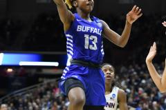 NCAA Women's Basketball Championship Second Round - #2 UConn 84 vs. #10 Buffalo 72 (111)