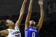 NCAA Women's Basketball Championship Second Round - #2 UConn 84 vs. #10 Buffalo 72 (114)