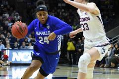 NCAA Women's Basketball Championship Second Round - #2 UConn 84 vs. #10 Buffalo 72 (118)