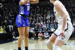 NCAA Women's Basketball Championship Second Round - #2 UConn 84 vs. #10 Buffalo 72 (126)