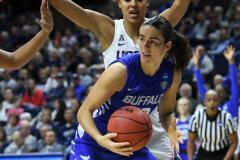 NCAA Women's Basketball Championship Second Round - #2 UConn 84 vs. #10 Buffalo 72 (127)