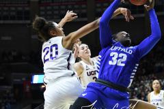 NCAA Women's Basketball Championship Second Round - #2 UConn 84 vs. #10 Buffalo 72 (128)