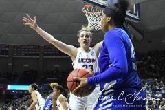 NCAA Women's Basketball Championship Second Round - #2 UConn 84 vs. #10 Buffalo 72 (134)