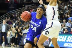 NCAA Women's Basketball Championship Second Round - #2 UConn 84 vs. #10 Buffalo 72 (136)