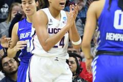 NCAA Women's Basketball Championship Second Round - #2 UConn 84 vs. #10 Buffalo 72 (139)