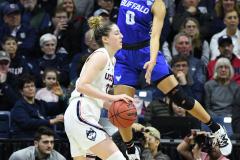 NCAA Women's Basketball Championship Second Round - #2 UConn 84 vs. #10 Buffalo 72 (148)
