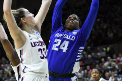 NCAA Women's Basketball Championship Second Round - #2 UConn 84 vs. #10 Buffalo 72 (154)