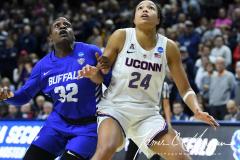 NCAA Women's Basketball Championship Second Round - #2 UConn 84 vs. #10 Buffalo 72 (168)